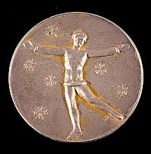 A St Moritz 1928 Winter Olympic Games gold first