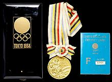 A Tokyo 1964 Olympic Games gold winner's prize