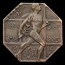 A 1904 St Louis Olympic Games athlete's
