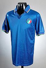 Gianluca Vialli: a blue Italy No.17 international