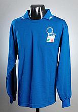 Franco Baresi: a blue Italy No.4 international