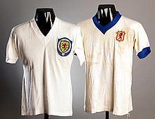 A white No.4 Scottish Football League