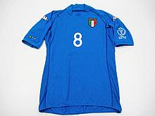Gennaro Gattuso: a blue Italy 2002 World Cup No.8
