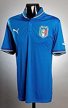 Daniele De Rossi: a blue Italy No.16 international