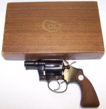 COLT MODEL COBRA 1ST ISSUE DBL ACTION REVOLVER