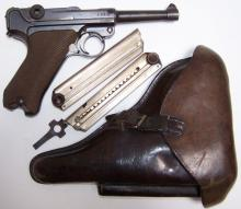 *GERMAN DWM 1916 DATED LUGAR PISTOL