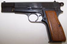 *BROWNING MDL HIGH POWER SEMI-AUTOMATIC PISTOL