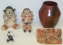 *GROUP OF SOUTHWEST POTTERY