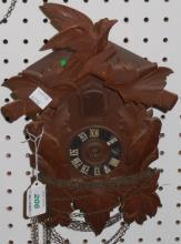 *GERMAN BLACK FOREST CUCKOO CLOCK