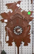 *GERMAN BLACK FOREST 8-DAY CUCKOO CLOCK