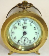 *WATERBURY BOUDOIR CLOCK