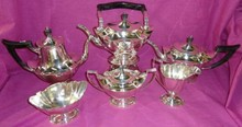 5 PIECE GORHAM STERLING SILVER COFFEE & TEA SET