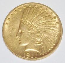 *1911 $10 GOLD PIECE