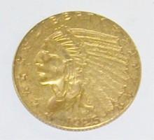 *1925 $2 1/2 GOLD PIECE