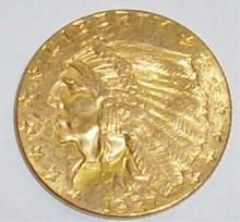 *1927 $2 1/2 GOLD PIECE