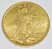 *1914 $20 GOLD PIECE
