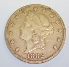 *1882 $20 GOLD PIECE