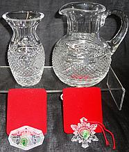 *4 PIECES OF WATERFORD CRYSTAL