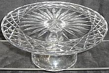 *WATERFORD CRYSTAL CAKE PLATE