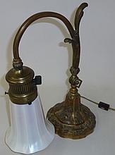 *BRASS DESK LAMP