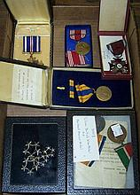 *GROUP OF MILITARY RIBBONS