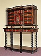 SPANISH VARGUENO CABINET ON STAND
