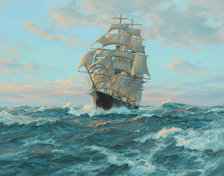 Oil Paintings Clipper Ships