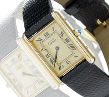 CARTIER MUST DE TANK UNISEX WATCH