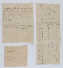 3 19TH CENTURY FLORIDA CATTLE DOCUMENTS