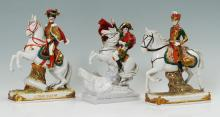 SCHEIBE-ALSBACH PORCELAIN NAPOLEON MILITARY