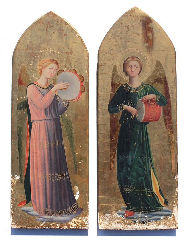 2 PAINTINGS IN THE MANNER OF FRA D'ANGELICO