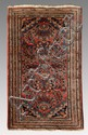 SEMI-ANTIQUE PERSIAN HAND KNOTTED WOOL RUG 2' x 3'