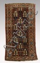 SEMI-ANTIQUE NORTH WEST PERSIAN HAND KNOTTED WOOL RUG, 3' 3