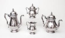 4 PIECE INTERNATIONAL STERLING TEA SERVICE