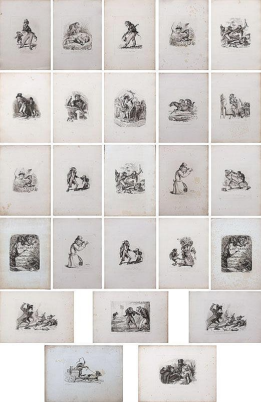 THOMAS LANDSEER MONKEY-ANA ETCHINGS
