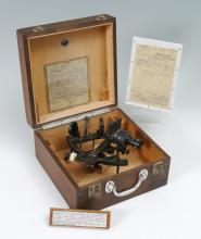 C. PLATH WWII GERMAN NAVAL SEXTANT