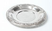 WALLACE GRAND BAROQUE STERLING SILVER TRAY