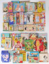 COLLECTION OF 32 VINTAGE PAPER DOLL BOXED SETS