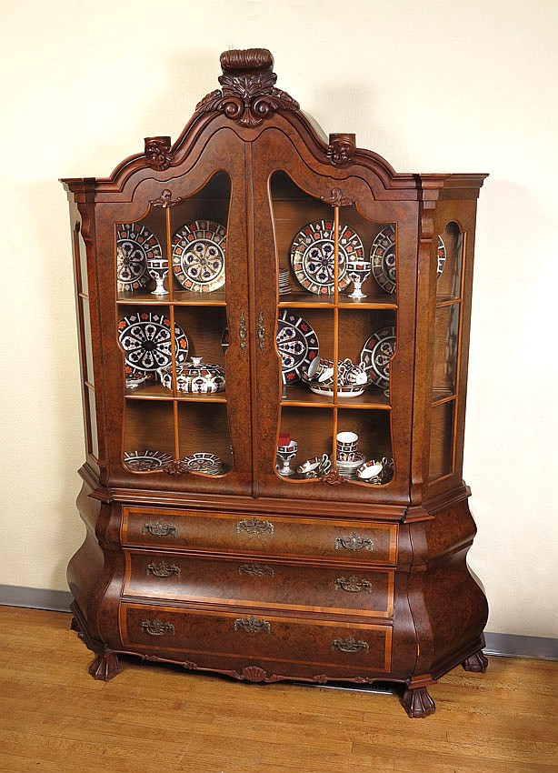 BOMBAY BURL CHINA CABINET