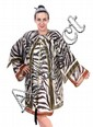 DESIGNER RESORT WEAR IN A ZEBRA PRINT