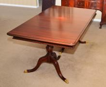 FINCH FINE FURNITURE MAHOGANY DINING TABLE