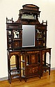 25: EDWARDIAN INLAY ROSEWOOD ETAGERE