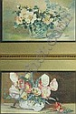 M. GARDNER: Four various watercolours including a pair of still life flower studies, all signed, various sizes