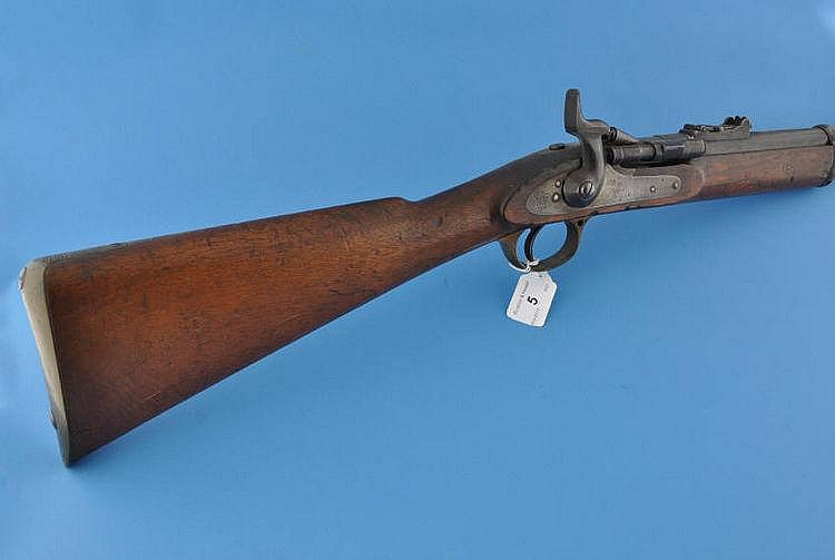 An 1864 pattern Enfield rifle with BSA patent