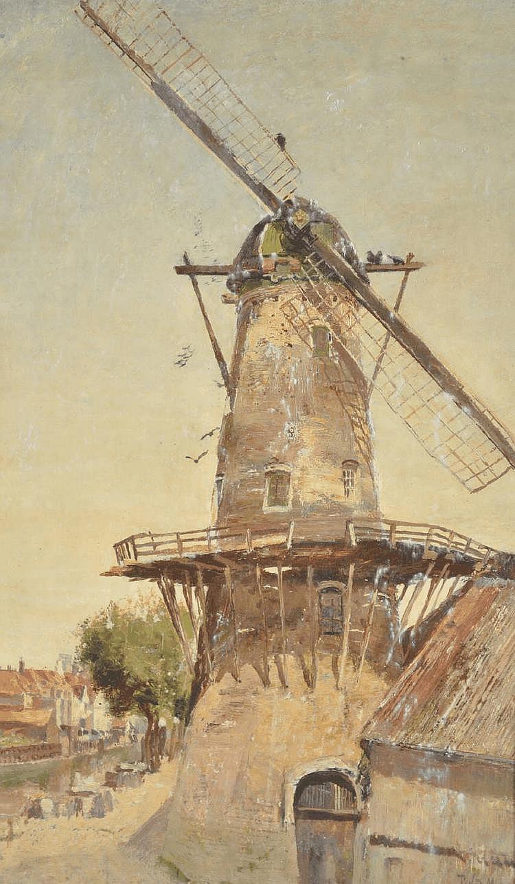 Sir David Murray (1849-1933) oil on canvas,