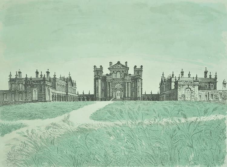 David Gentleman (born 1930) colour lithograph,