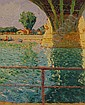 FRENCH IMPRESSIONIST SCHOOL Mid 20th Century oil