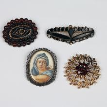 FOUR LADIES PINS