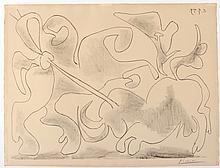 PABLO PICASSO (Spanish, 1881-1973), 'La Pique II'