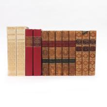 (12 vol) JOHNSON, BOSWELL, & THACKERAY